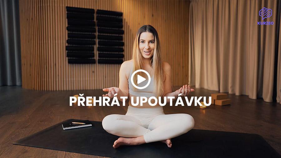 joga online kurz - kurzeo - bara sedlakova